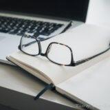 2本の新しい眼鏡