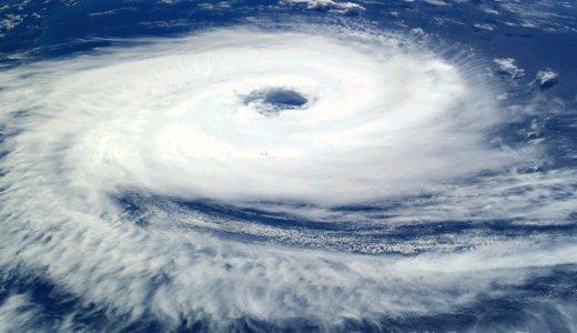 台風と単一電池