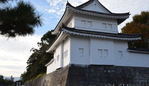 京都御所の参観は諦めて二条城へ